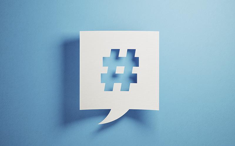 Hashtag iStock