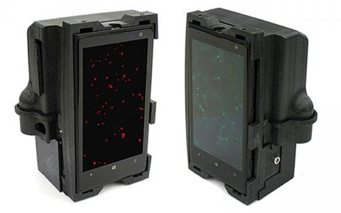 Dual smartphone microscopes
