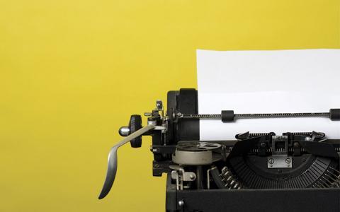Vintage Typewriter iStock