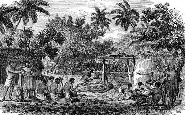 The Big Story Human Sacrifices at Tahiti iStock